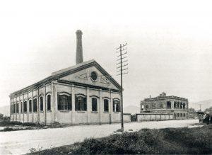 中電首座發電廠位於漆鹹道(1903年)